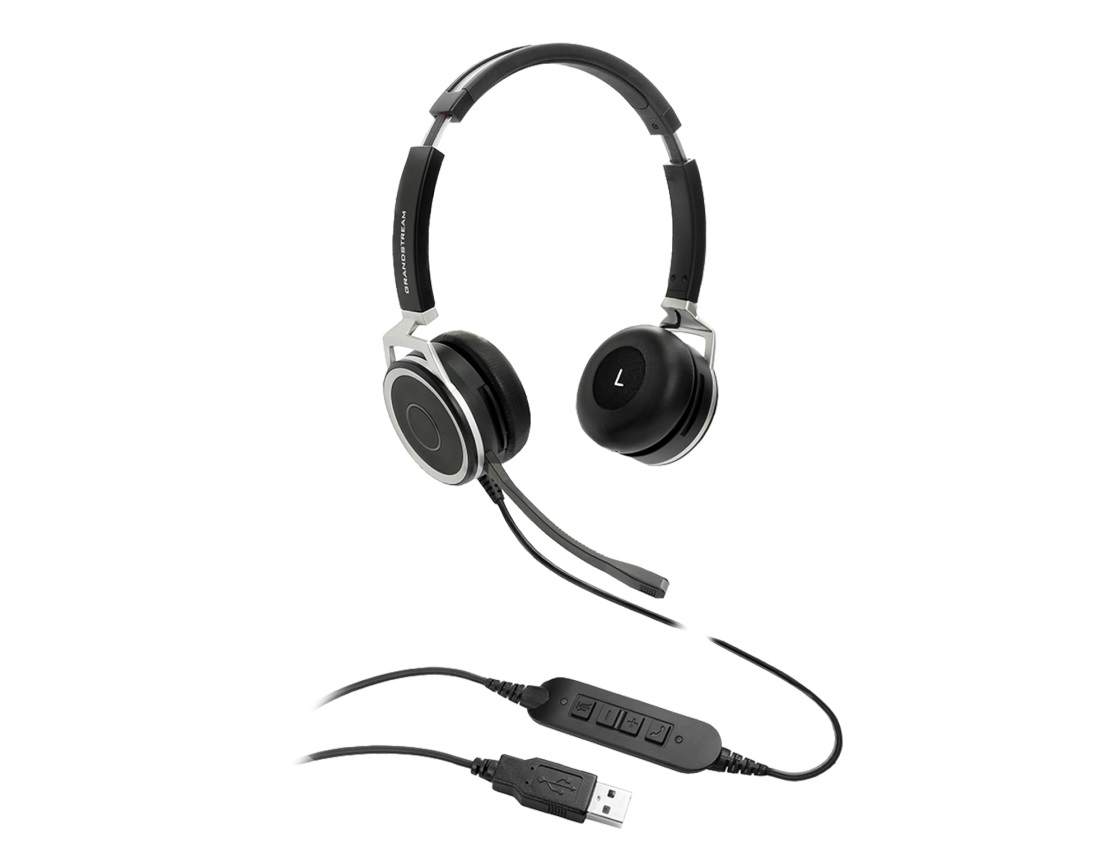 Grandstream GUV3005 HD USB Headset with Busylight